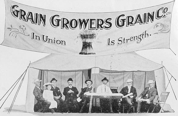 Grain Growers. Grain Co., a co-operative of farmers in Saskatchewan that was the precursor of the United Grain Growers. SOURCE