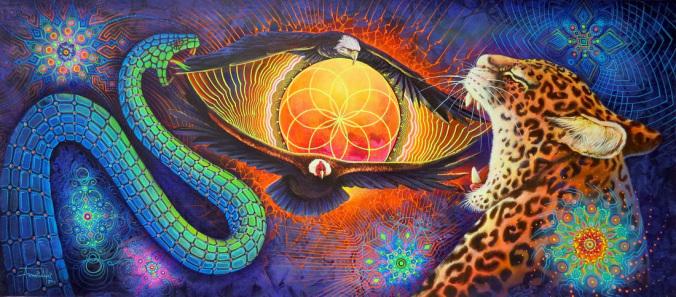 The 3 levels - snake, puma or jaguar, condor or eagle