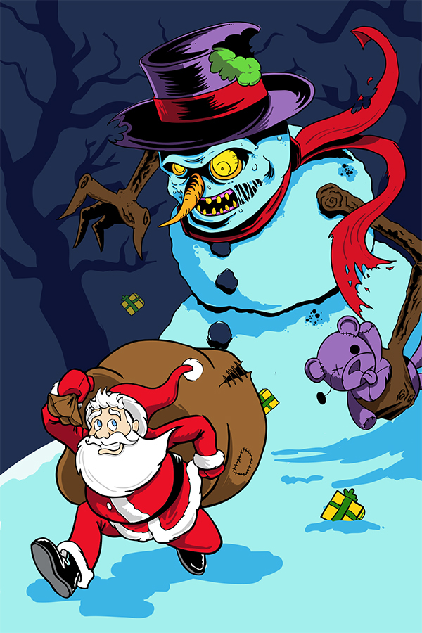 2014 JUNG Illustration Holiday Card