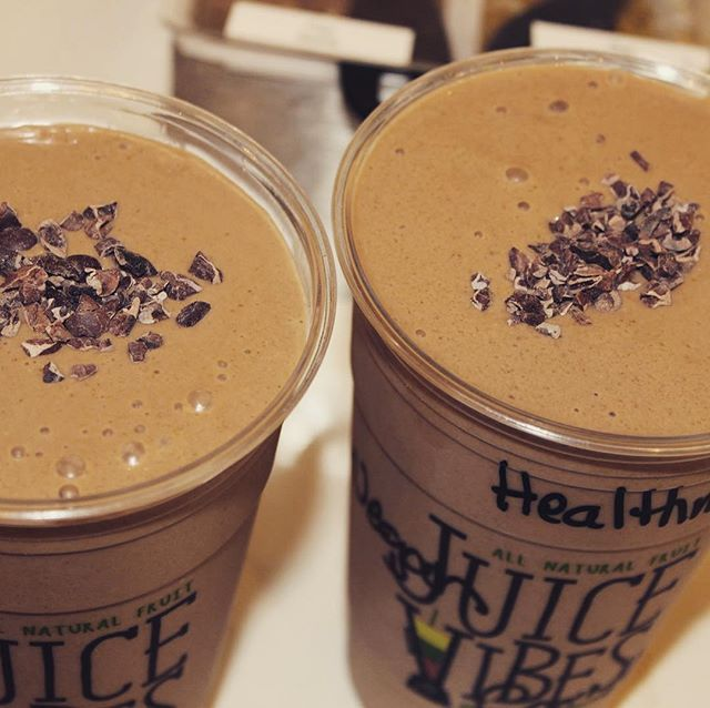 It's #SmoothieSaturday!  How about having the Health Nut smoothie with raw cacao nibs? They're proven to reduce blood pressure as well as decreasing levels of anxiety! AND they taste GREAT!!! #seeyousoon #juicevibes #healthyvibes #smoothievibes #allnatural #rawcacao #healthnut