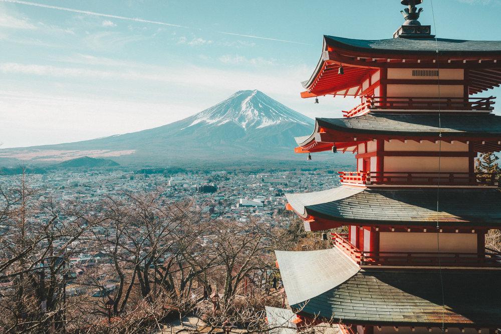 TOKYO, MT. FUJI & KYOTO -
