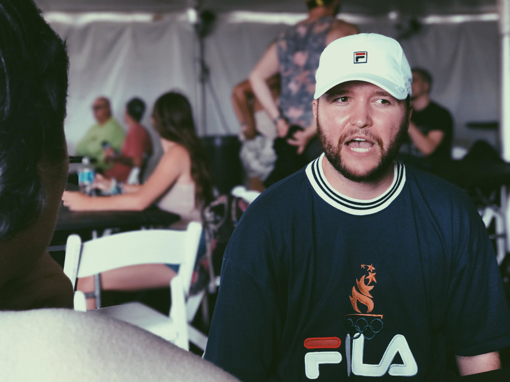 Firefly Music Festival, Interview with artist Quinn XCII