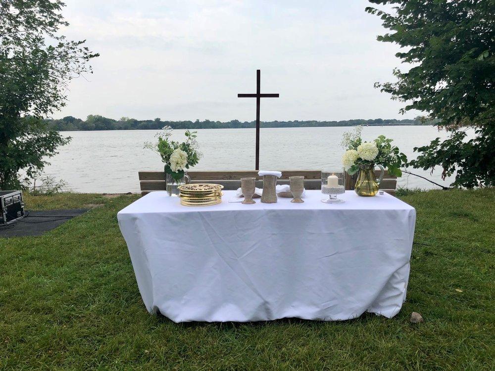 Lakeside Baptism Service