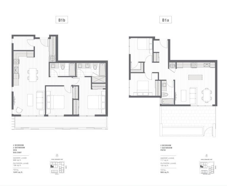2-bedroom floorplan