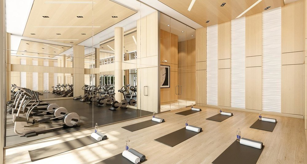 Brentwood Gym Burnaby Concord Pacific Brentwood Towers Condo Development Presale Elliot Funt Engel & Völkers.jpg