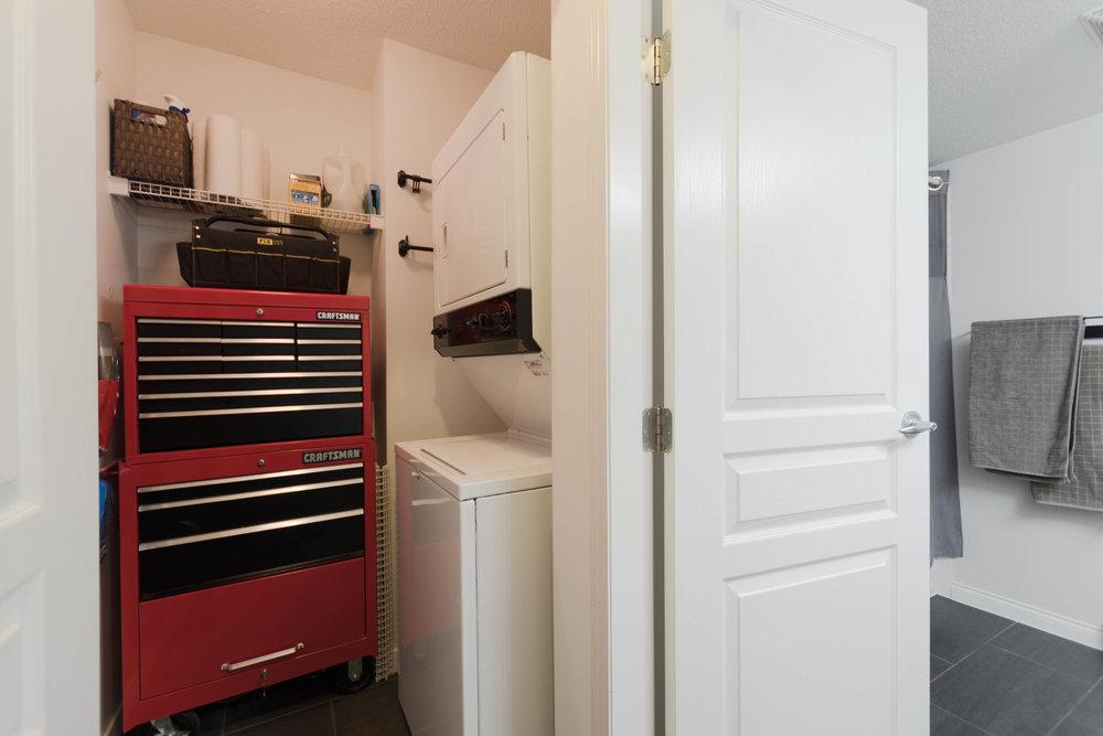 Bathroom & Storage Closet