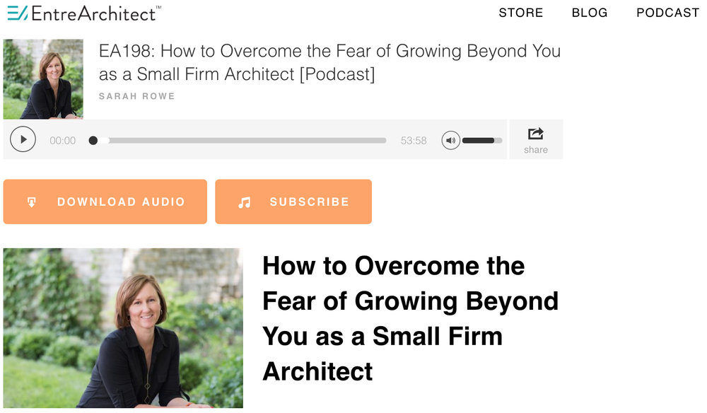 Sheri on EntreArchitect Podcast.jpg
