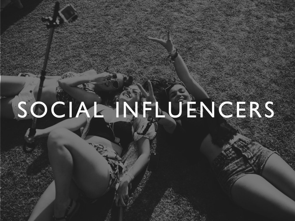 WAV/E: Social Influencers