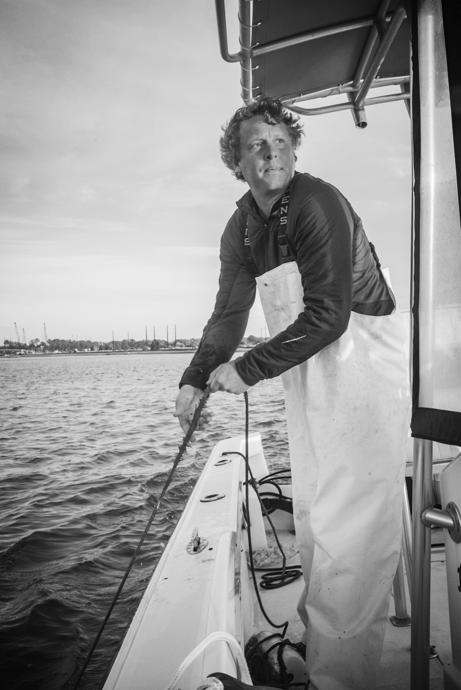 Andrew Carmines, Shell Ring Oyster Company