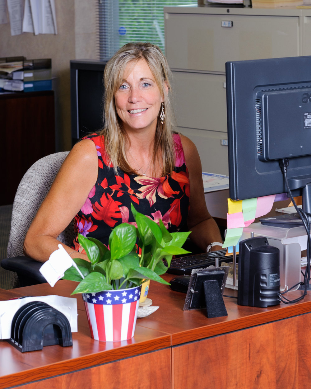 Marcia   Hafner,  Office Manager