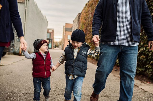 We even hit up the city for a urban feel.  These two boys though are the cutest!