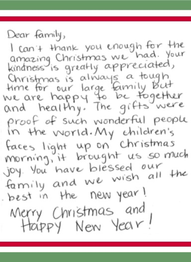 Thank you letter to a family images letter format formal sample thank you letter to a family gallery letter format formal sample thank you letter for family expocarfo Image collections