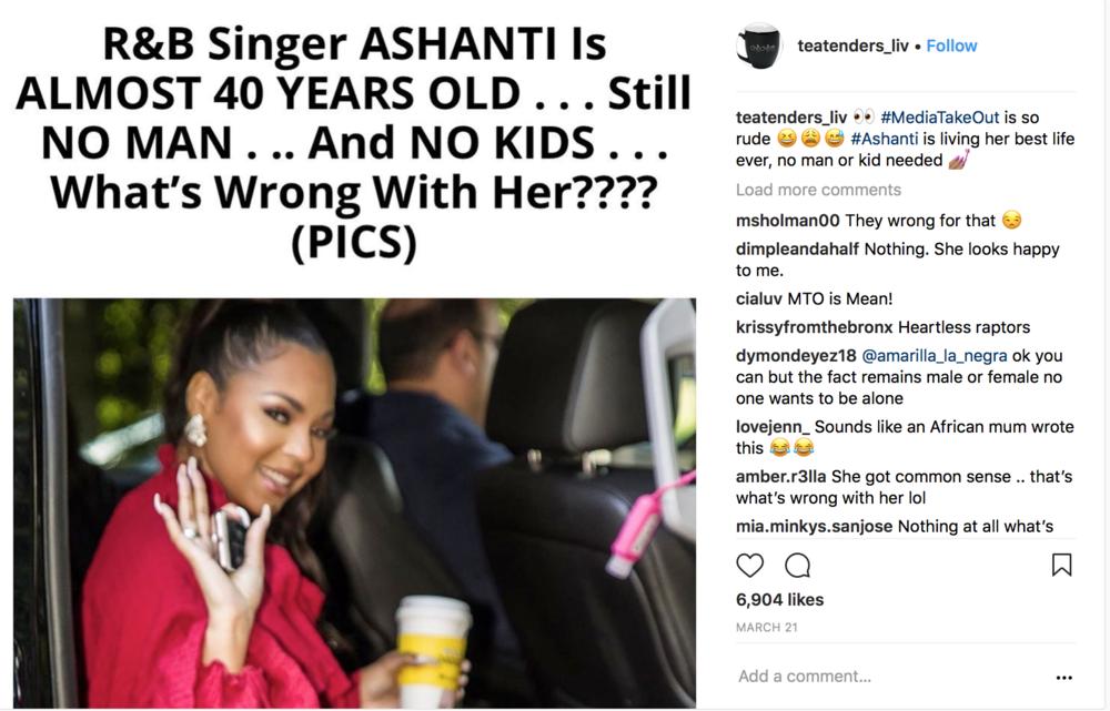 Ashanti Bashing