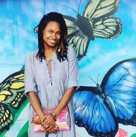 """Candace """"Kandeaux"""" Clark sees - farming, land ownership, and cultivation as a path to liberation and equity. She is a """"farm plug"""