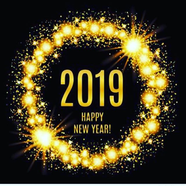 Wishing everyone a happy and healthy New Year in 2019🎉 we are here till 2 pm today