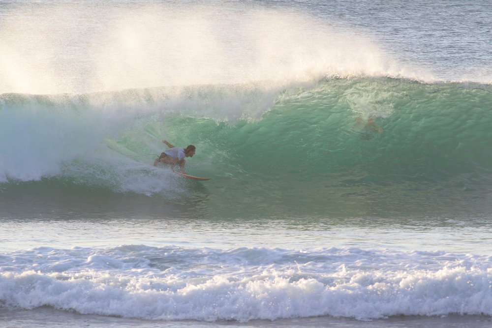 A good intro to Indonesia. This was my first day at Bingin. It's such a predictable wave, it's an auto barrel.