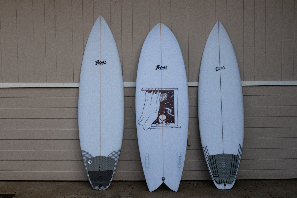 This year we brought a couple new models to test out in Maui. Two Super Soaker II's, and a more refined, high performance Fish Taco.