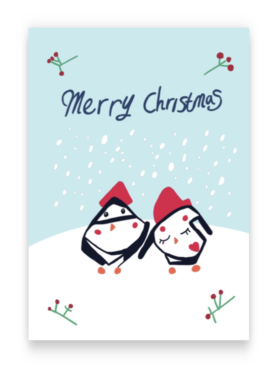 Christmas Cards - 5 Cards£3Card size: A6Blank insideEnvelopes includedThis card has been designed by members of The Magic Sparks Choir. We are an inclusive choir based in London promoting the talents and power of people with learning disabilities.