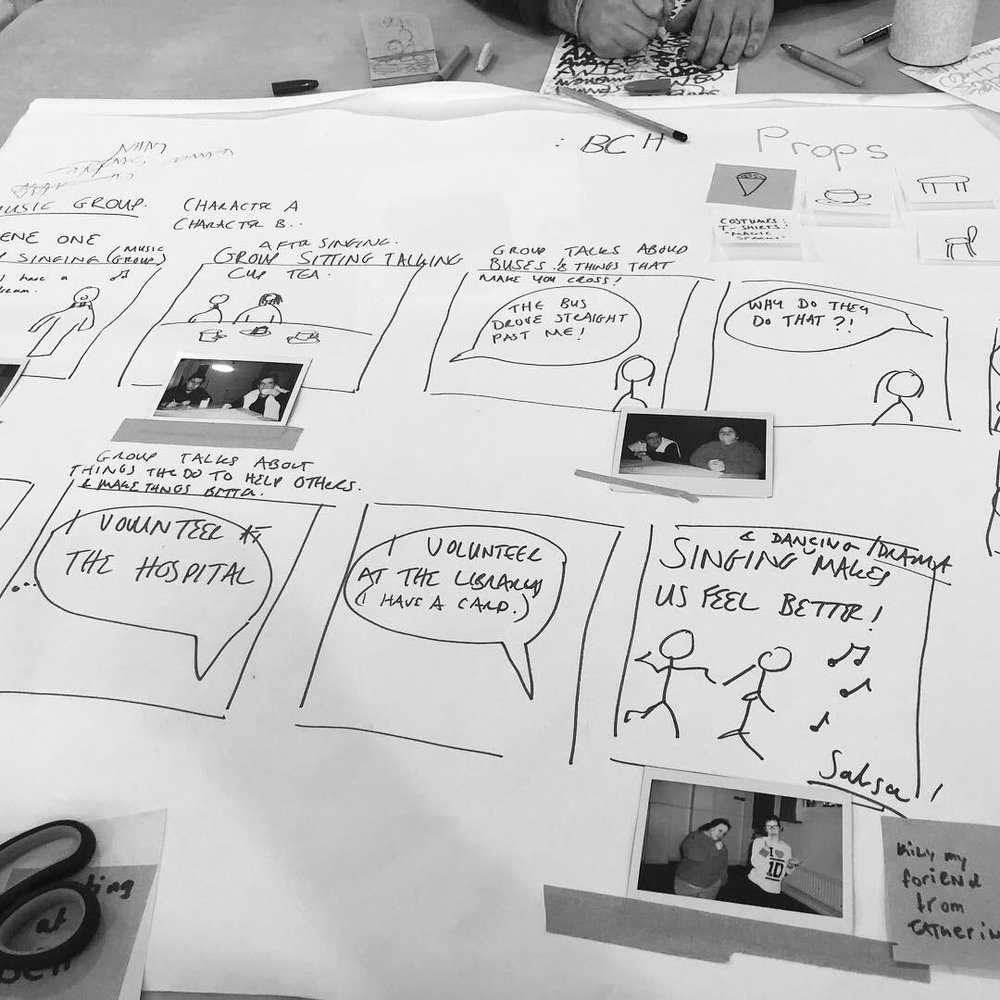Storyboarding - What happens next?