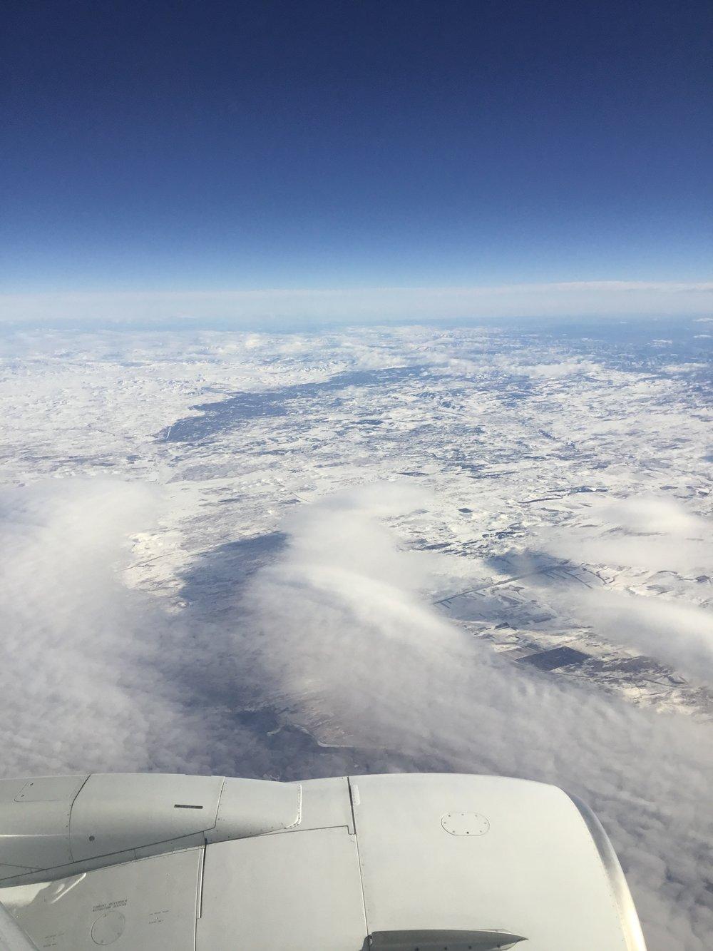 Airplane ascott berg