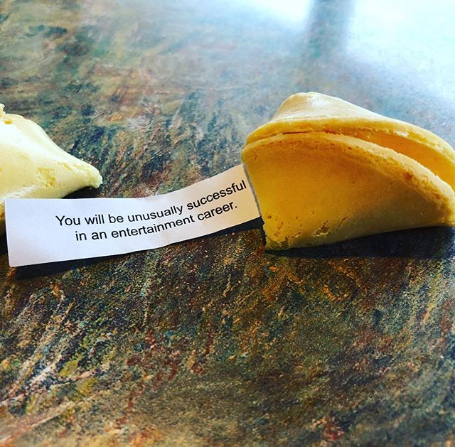 That's quite the fortune! #thatswhatido #chinesefood #fortunecookie #words #montana #music #dj #weddings