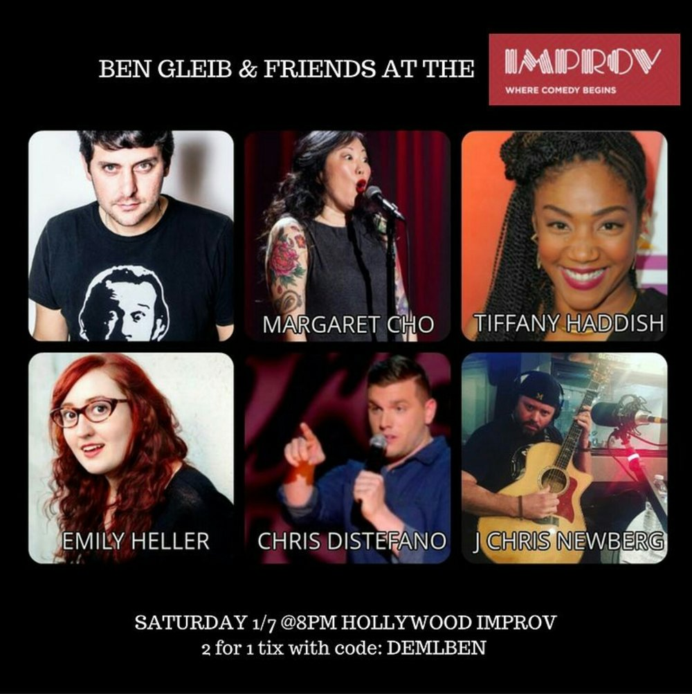 Ben Gleib & Friends at the Hollywood Improv