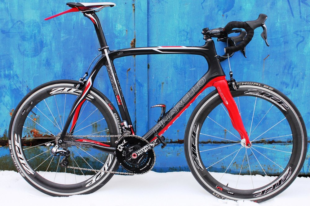 Pinarello Dogma with Shimano Dura-ace DI2