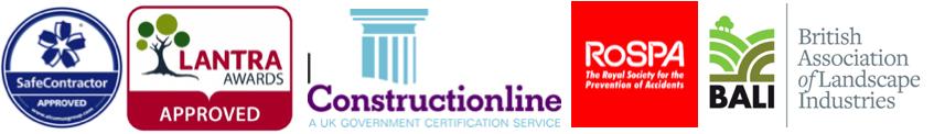 Landscape gardening accreditations