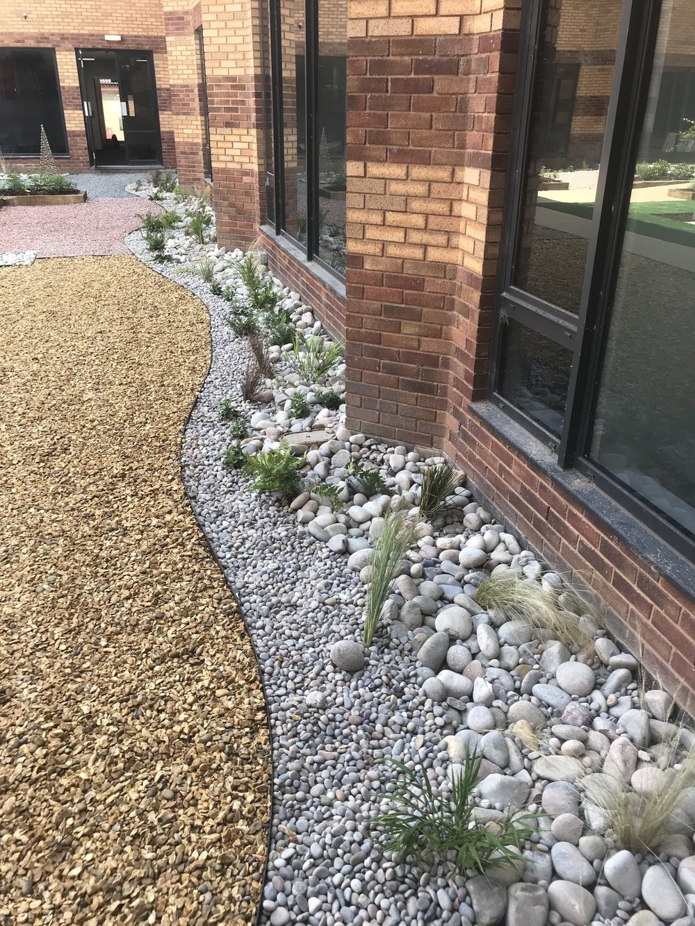 Commercial landscaping in the community