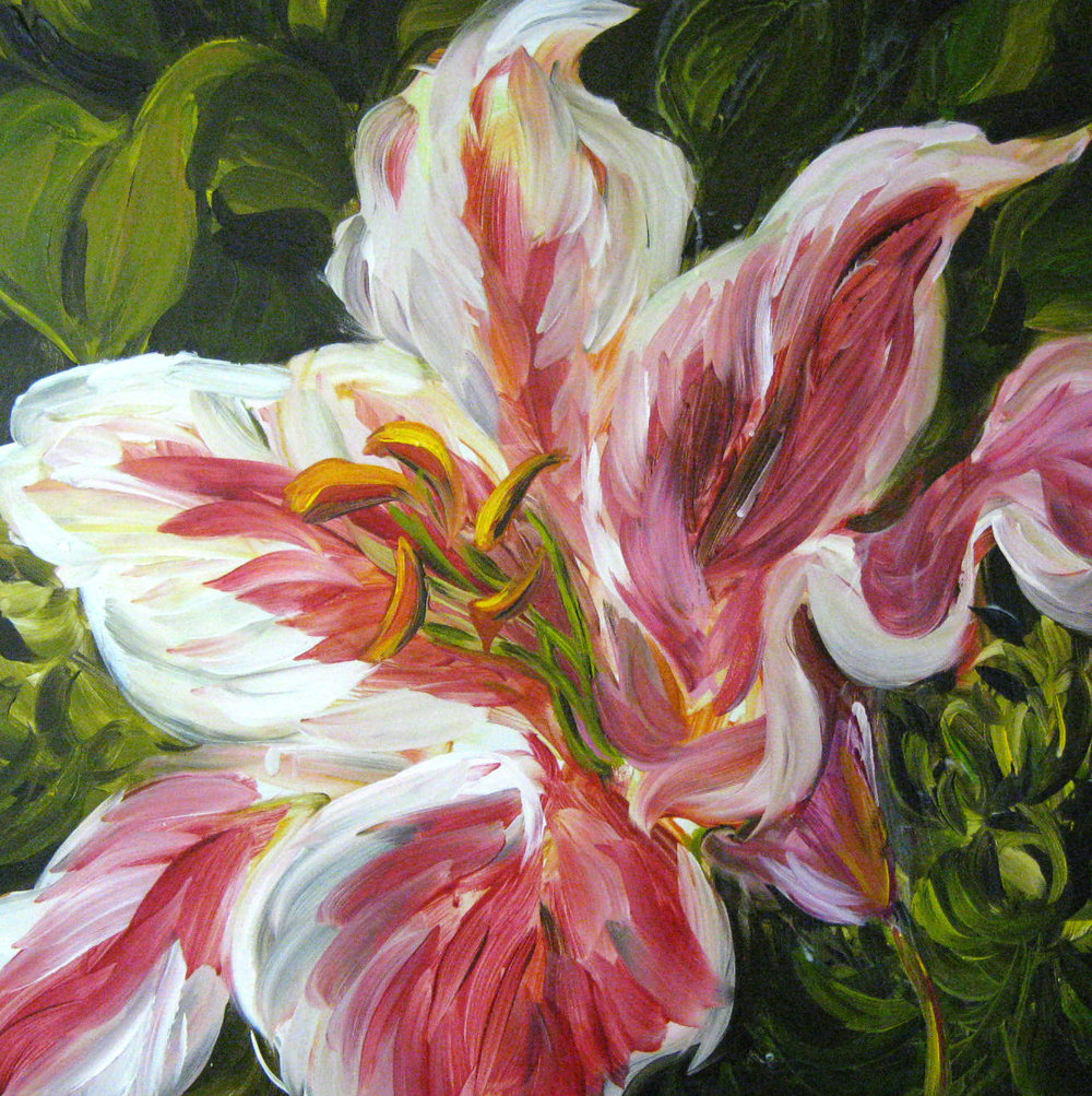 Lily 24x24