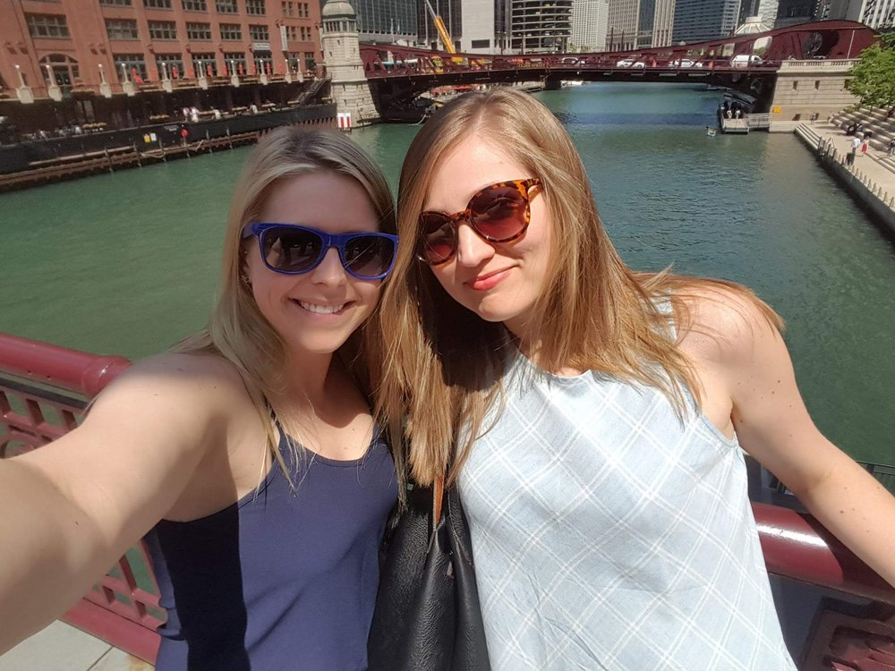 Enjoying the Bridges of Chicago