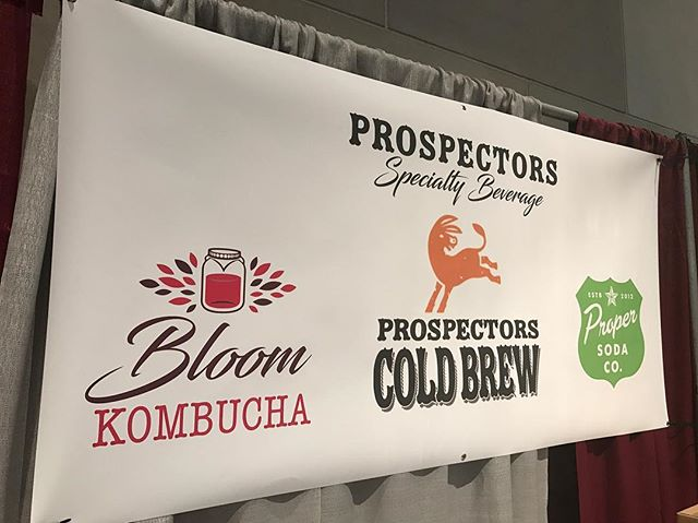 Hanging out at the #grwinefest tonight and tomorrow. We've got cold brew coffee, we've got kombucha, we've got hop soda, we've got FREE SAMPLES. We also have free high-fives if you're 😎. See ya there! . . . #prospectorscoldbrew #grandrapids #coldbrew #coffee #coldbrewcoffee #madeinmichigan
