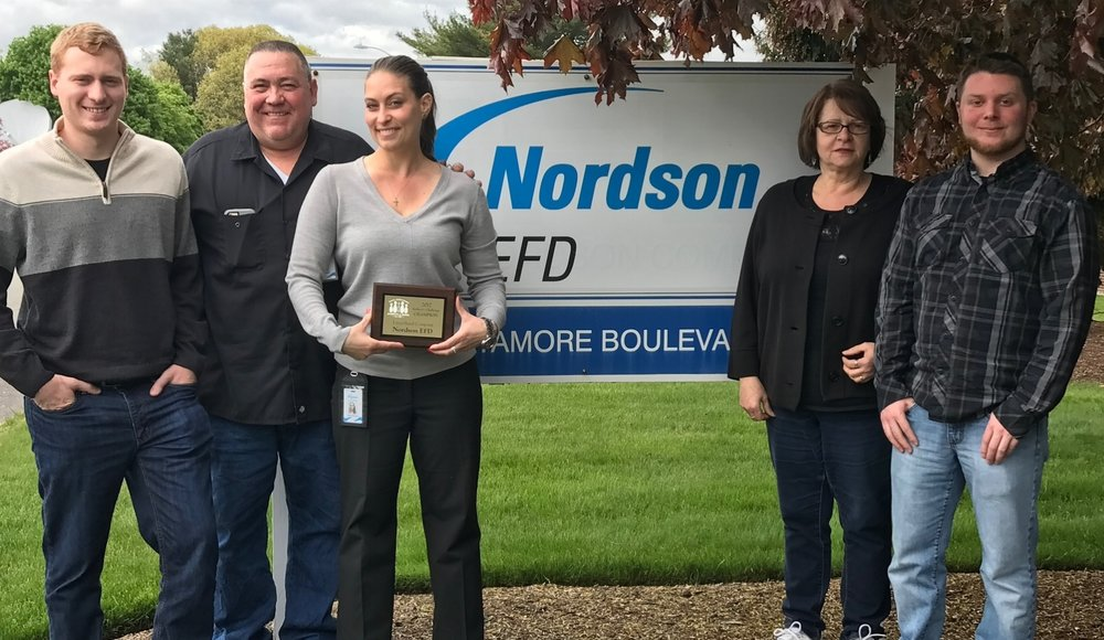 Large-sized Company winner Nordson EFD