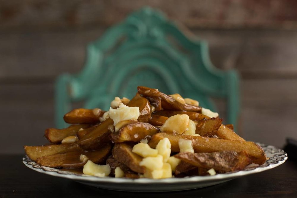 Poutine.    AMBER BRACKEN/FOR THE GLOBE AND MAIL