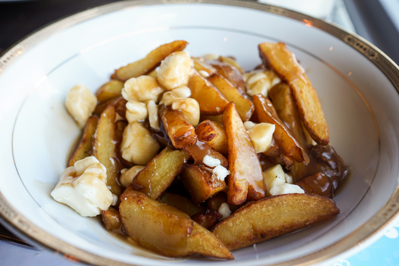 Poutine.  PHOTO BY LET'S OM NOM.