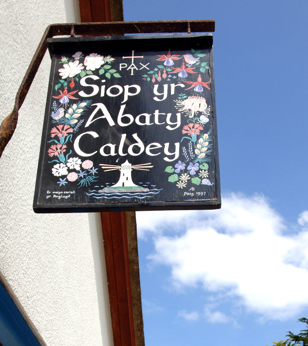 Caldey shop sign.jpg