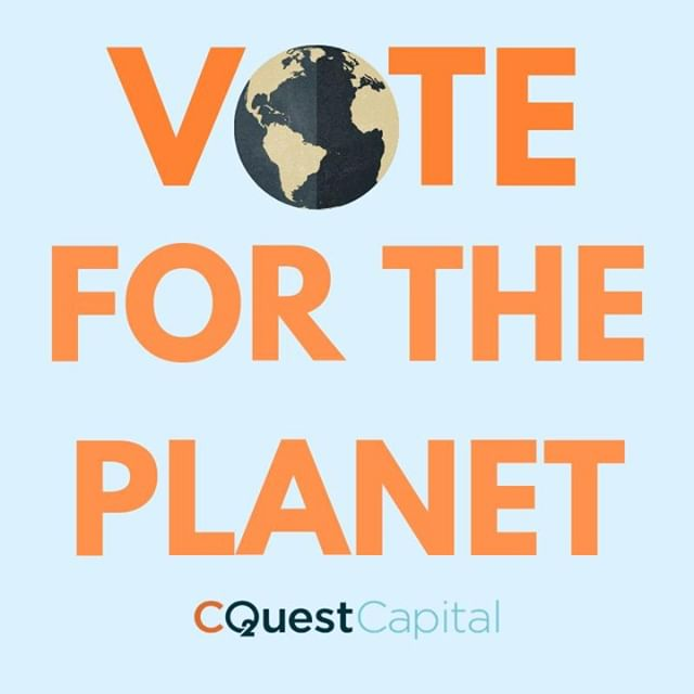 Grab a friend, and go vote for the planet today! #CQuestCapital #ElectionDay #MidtermsMatter