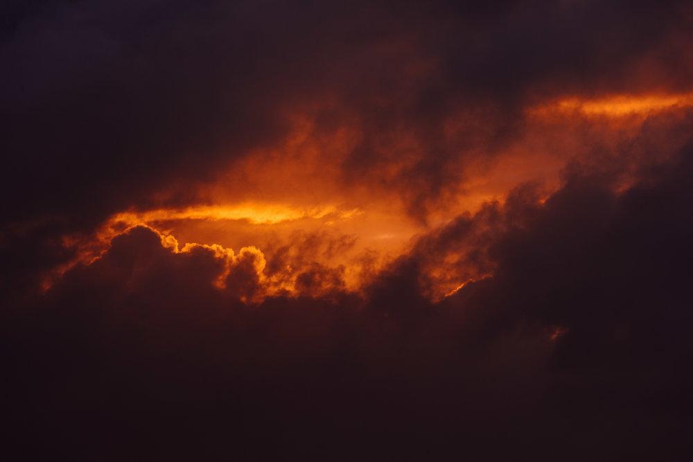 Sunrise + Thunderstorm = MOST EPIC SUNRISE EVER!