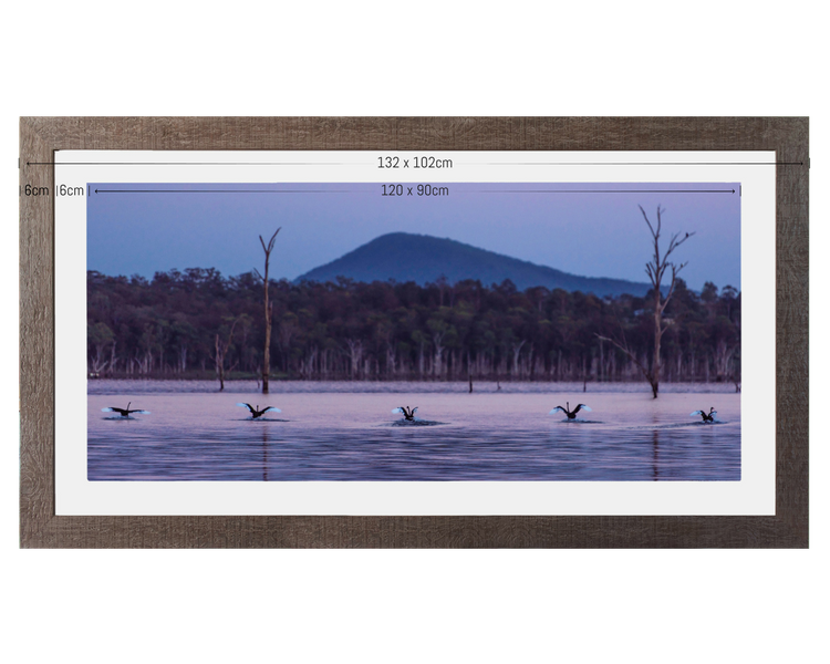 PANORAMA - or 102x57cm framed (with 90x45cm print)(click here to request a panorama)