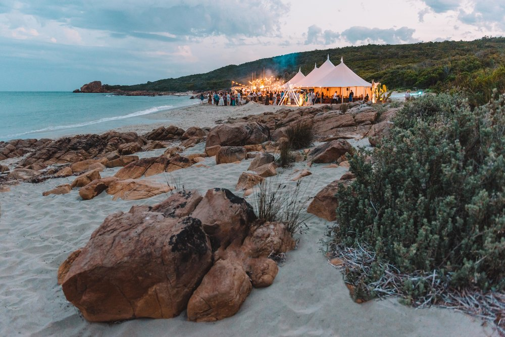 Offical Opening for   Gourmet Escape  -Curtis Stone Gourmet Beach BBQ, Margaret River