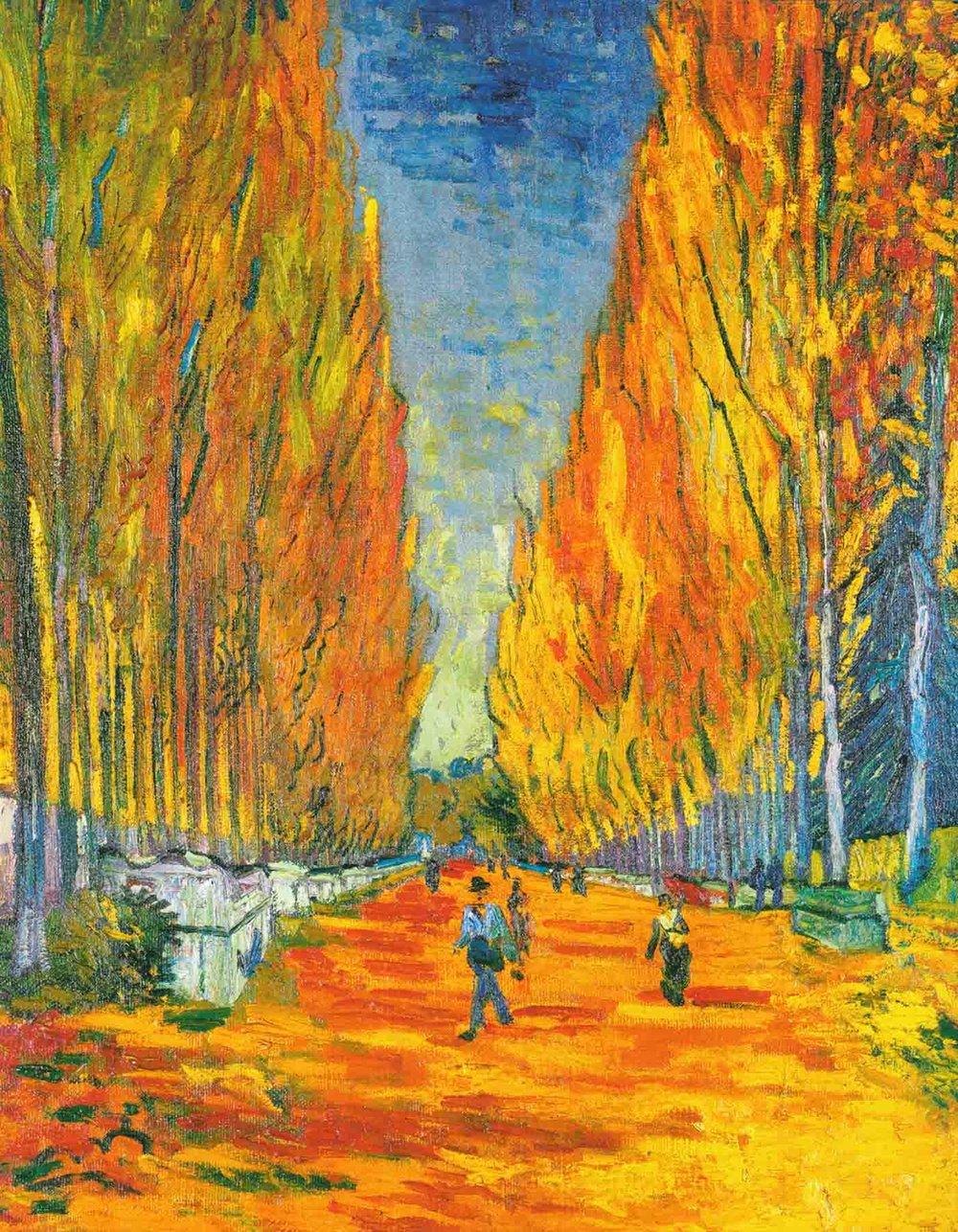 Les Alyscamps, 1888 - Vincent Van Gogh