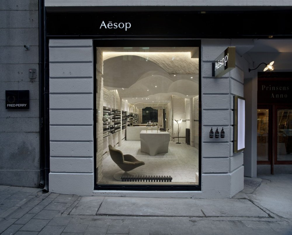 100th Aesop Store   by  Snohetta  Oslo, Norway