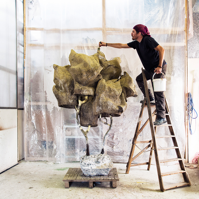 Nacho Carbonell at the Carpenters Workshop Gallery in Paris 3