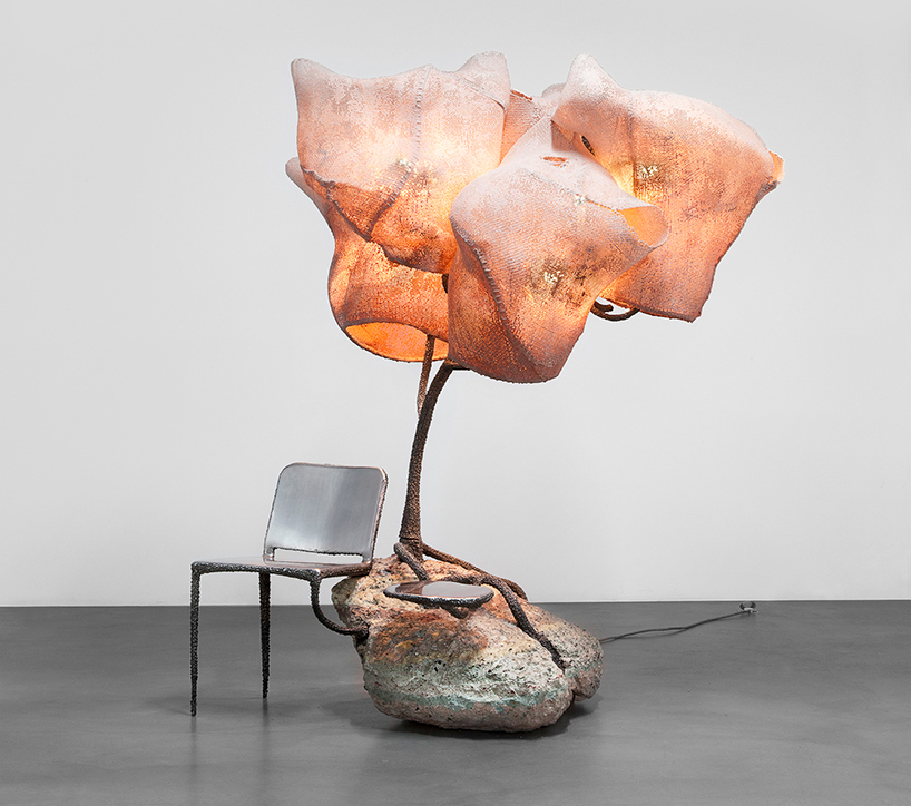 Nacho Carbonell at the Carpenters Workshop Gallery in Paris 7