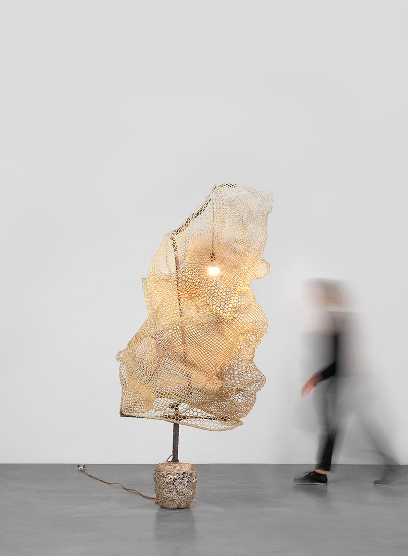 Nacho Carbonell at the Carpenters Workshop Gallery in Paris 11