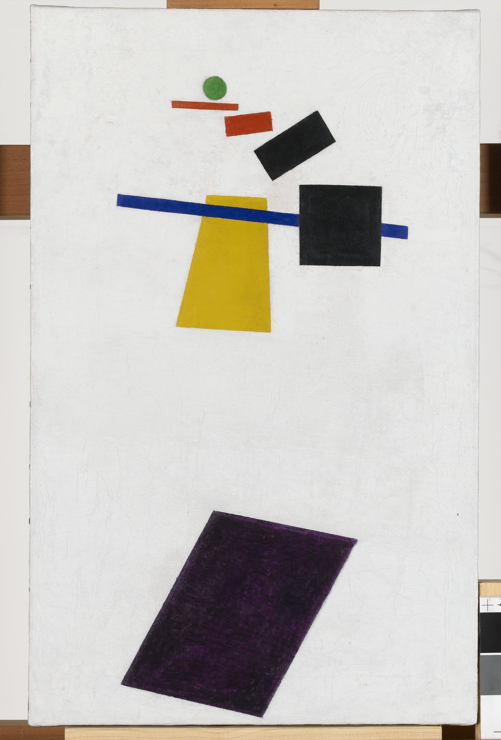 Suprematism. Soccer Player in the Fourth Dimension   Kazimir Malevitch