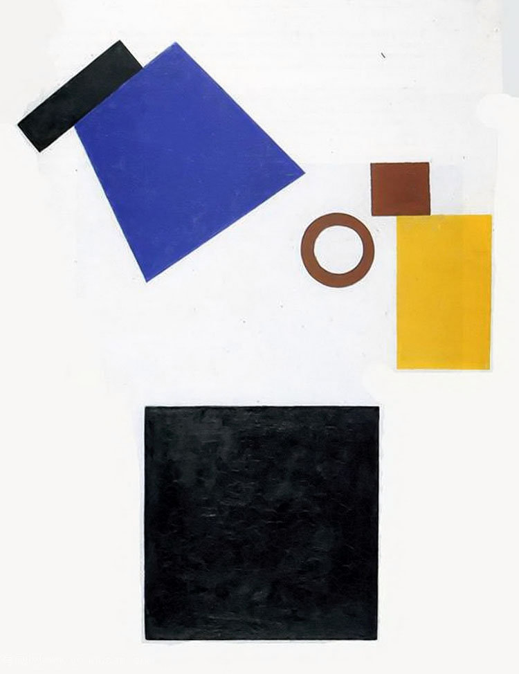 Two-Dimensional Self Portrait   Kazimir Malevitch