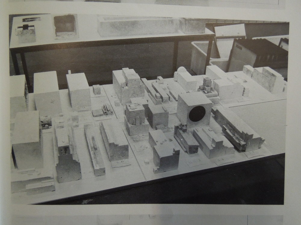 """Unpacking and identification of architectones' elements, in Jean-Hubert Martin, """"Archeology of Architectones"""", Les Cahiers du MNAM, January / March 1980, p. 150-151"""