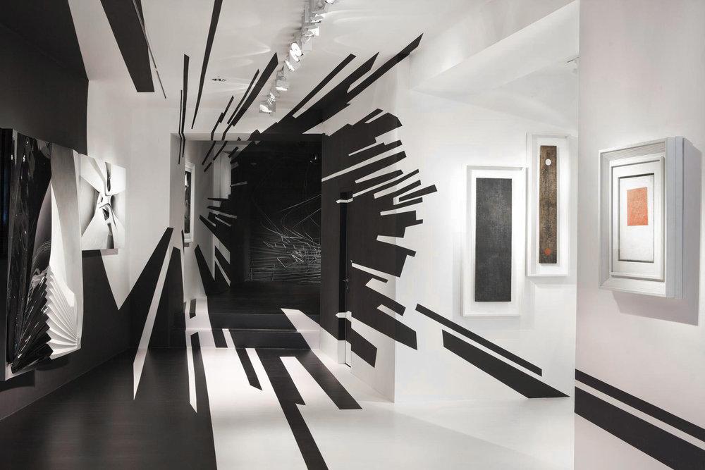 Zaha Hadid and Suprematism Exhibition   Courtesy of Galerie Gmurzynska