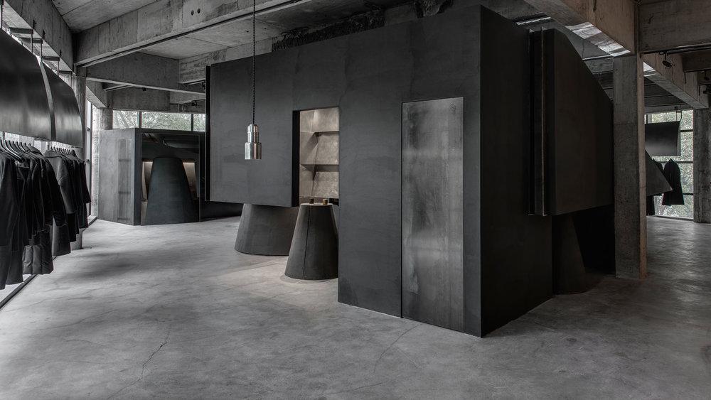 Heike fashion concept store anniversary magazine